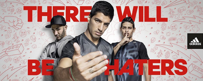 adidas: therewillbehaters